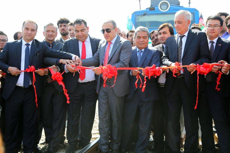 اولین محموله ترانزیتی افغانستان