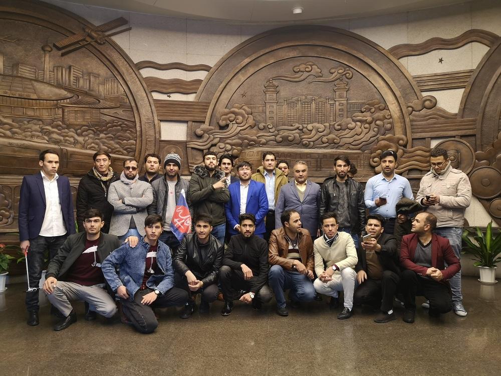 آموزش کارمندان اداره خط آهن وزرات ترانسپورت در کشور چین