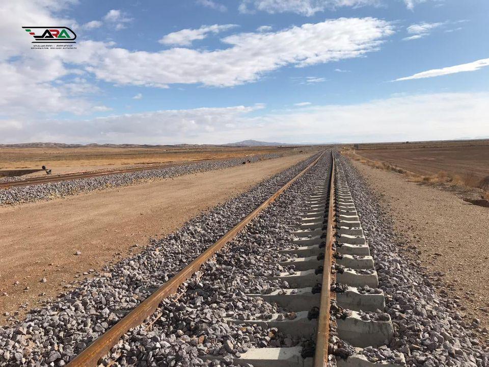خط آهن محرک انکشاف و اتصال منطقوی/ خط آهن خواف- هرات به روایت تصویر