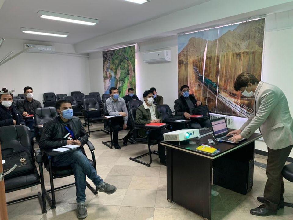 آموزش کارمندان اداره خط آهن افغانستان در ایران به روایت تصویر