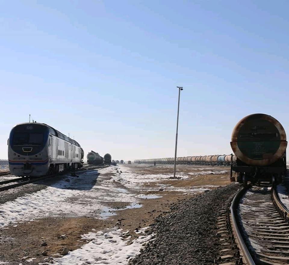 خط آهن آقینه- اندخوی آمادۀ افتتاح و بهرهبرداری